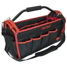 "Tool Bag 18"" 19 Pockets Heavy Duty Tool Storage Carry Case Plumbers Electrician"
