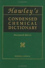 Hawley's Condensed Chemical Dictionary (14th Edition)-ExLibrary