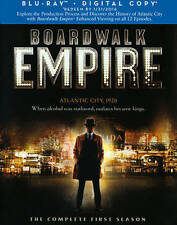 DVD: Boardwalk Empire: Complete First Season (BD) [Blu-ray], Various. Good Cond.