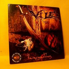 Cardsleeve PROMO Full CD Vile The New Age Of Chaos 9TR 2005 Death Metal