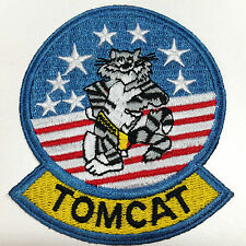 F-14 TOMCAT US Navy Fighter Squadron Jacket Sew On Patch Grumman