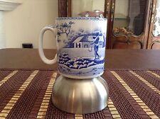 Spode Blue Room Collection Indian Sporting Porcelain 10oz Mug