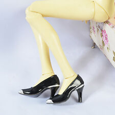 Slive-Black 1/3 BJD Iplehouse EID SID nYID girl Super Dollfie SD Female Shoes 12