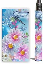 E Cig Battery Skin Fits eGo/Vision/Other Type Vapor Cover Wraps ECig - PRETTY