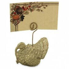Bethany Lowe - Thanksgiving - Turkey Place Card & Holder - TP9244