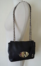 MULBERRY Black small leather lily shoulder or cross body bag