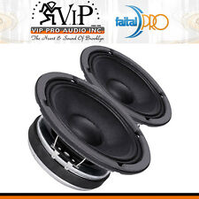 "Faital-Pro 8FE200 8"" Midrange Midbass 260W Professional Woofer Speaker 4Ohm PAIR"