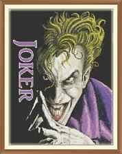 The joker 00 CROSS STITCH CHART 12.0 x 9.1 Inches