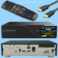 DREAMBOX DM900 ULTRA UHD 4K DUAL Twin Sat Receiver CA CI DM 900 UNICABLE IPTV