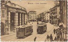 BRESCIA - CORSO ZANARDELLI - TRAM 1915