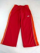 PUMA WOMENS RED ORANGE POLYESTER ATHLETIC CAPRI PANTS SIZE XS
