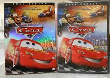 Cars (DVD 2006) RARE OFFICIAL DISNEY W BUENA STAMP BRAND NEW W SLIPCOVER