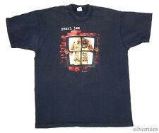 PEARL JAM Vintage T Shirt 90's Tour Concert 1993 Vs Window SEATTLE GRUNGE ROCK