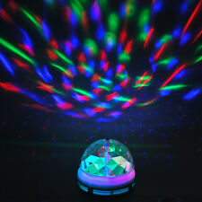 DJ Lampe E27 3W RGB LED Stage Bunte  Bühne Lampe Party Disko Auto- Rotating