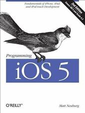 Programming iOS 5: Fundamentals of iPhone, iPad, and iPod touch-ExLibrary