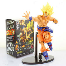 JP Anime Dragon Ball Z Super Saiyan Son Goku Grabbing Hand Figures Toy Xmas Gift