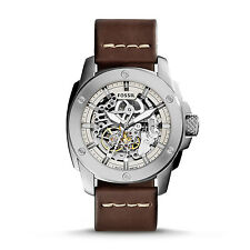 FOSSIL ME3083 Modern Machine Automatic Brown Leather 50mm Men's Watch