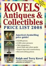Kovels' Antiques and Collectibles Price List 2008 by Kim Kovel, Terry Kovel and