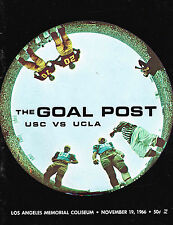 1966  USC vs UCLA Football Program NCAA