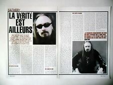 COUPURE DE PRESSE-CLIPPING :  BATHORY [2pages] 01/2003 Quorthon,Nordland
