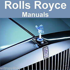 Rolls Royce Silver Cloud 1, 2, 3 Phantom V Bentley S S2 S3 SERVICE Shop MANUALS