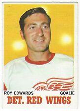 1970-71 TOPPS HOCKEY #21 ROY EDWARDS - VG+/EX-