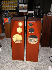 Speaker loudspeaker Tower enclosures box Cherry for Scanspeak Seas vifa woofers
