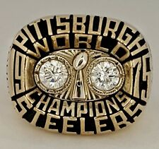 1975 Pittsburgh Steelers Super Bowl X Champions World Championship Football Ring