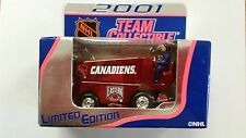 ZAMBONI CANADIENS DIE CAST LIMITED EDITION WHITE ROSE NEW IN BOX 2001