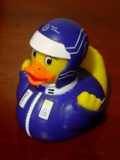 """Rare Pa Chapter-March of Dimes 2007 """"Football Player"""" RUBBER DUCKY Squeak Toy"""