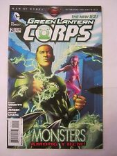 August 2013 DC Comics Green Lantern Corps #21  NM  (JB-66)
