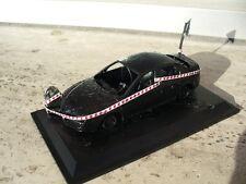 1:43 diorama Alfa Romeo 159 distrutta dal fuoco sotto sequestro dai Carabinieri