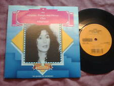 """CHER-GYPSIES,TRAMPS & THIEVES /HALF-BREED 7"""" OLD GOLD PS"""