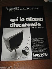 AA22=1968=AUTOVOX STEREO TV TELEVISORE=PUBBLICITA'=ADVERTISING=WERBUNG=