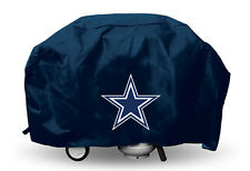 """Dallas Cowboys Vinyl Grill Cover [NEW] NFL 68"""" Wide Grilling Barbeque CDG"""