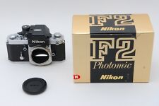 【Ex+++】Nikon F2AS Photomic 35mm SLR Film Camera Body in Box from japan 1327