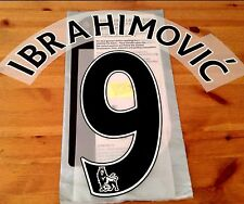 2016-17 Man Utd 3rd Away Shirt IBRAHIMOVIC#9 PS-Pro SportingiD Name Number Set