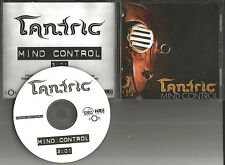 TANTRIC Mind Control RARE TST PRESS 2009 USA PROMO DJ CD Single days of the new