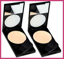 2 X REVLON PHOTOREADY PRESSED FACE POWDER MAKEUP - 010 FAIR/LIGHT - NEW!