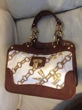 Authentic Louis Vuitton cabas charm gold chain  shoulder  bag tote purse limited