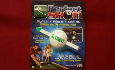 Perfect Shot Pool Training Aid Cue Shot Pool Billiards