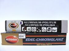 (8,50€/100 ml) Autosol® Set 75 ml Chrompolitur + 75 ml Aluminium Politur