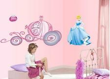 Princess Carriage Home Bedroom Decor Removable Wall Sticker Decal Decoration