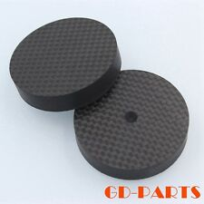 50*10mm High end Carbon fibre Isolation Spike Pad Speaker Turntable Recorder*1
