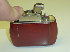 KW (KARL WIEDEN) AUTOMATIC POCKET LIGHTER W. AMBER CASE - 1951 - MADE IN GERMANY