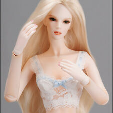 """Dollmore  Fashion Doll Tylar wig (4-5)""""  Parting Straight Wig (Blonde)"""
