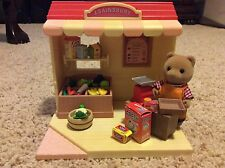 Calico Critters J. Sainsbury's Grocery Store - RARE NO LONGER AVAIL BY SYLANIAN