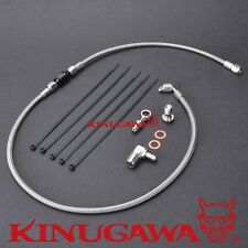 Kinugawa Evo 9 Oil Filter Housing Feed Line Kit