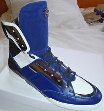 NEW VERSACE COLLECTION MEDUSA GLADIATOR HIGH TOP SNEAKERS/SHOES SZ.45/12US $2500