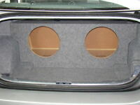 "Zenclosures 2006-2012 BMW 3 Series 2-10"" Sub Subwoofer Box - Fits Coupe & Sedan"